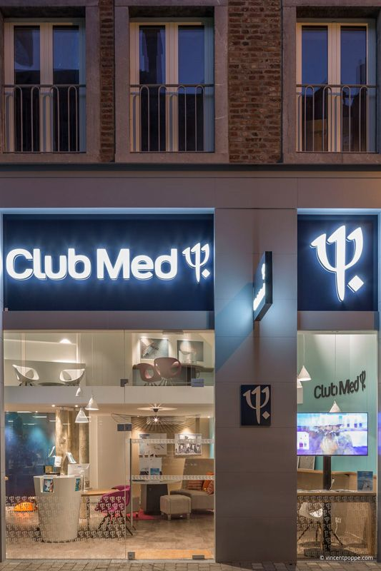 the new branch of Club Med in Namur,  architects Oliver Simon & Elise Fossion. #DGA #LightAddicted #LED #producer #madeinitaly