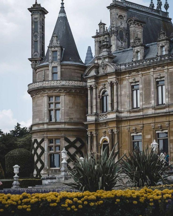National Trust, Beautiful Manor House, England Travel