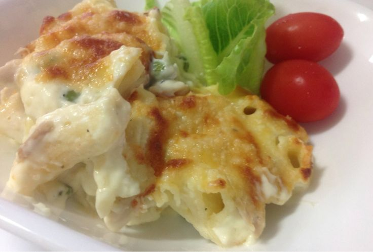 COOKIE's #Thermomix Chicken and Bacon Macaroni Cheese http://bit.ly/1CmUJSN