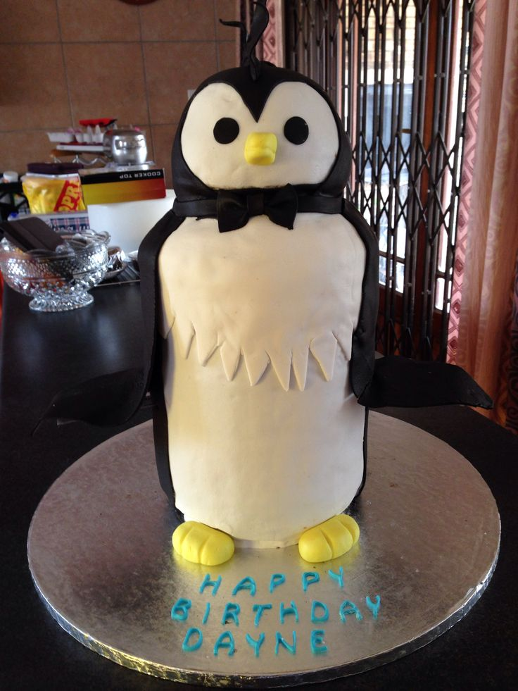 #penguincake