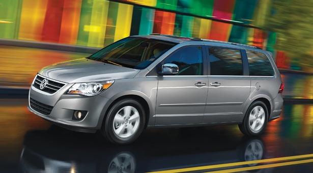 VW Routan USA (rebadged Chrysler Voyager) Plus