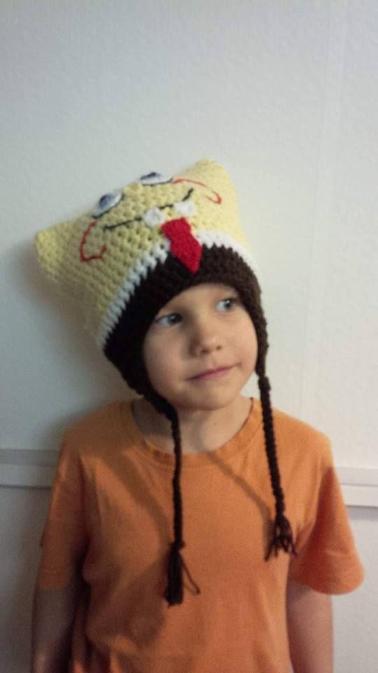 sponge bob square hat - spongya bob sapka