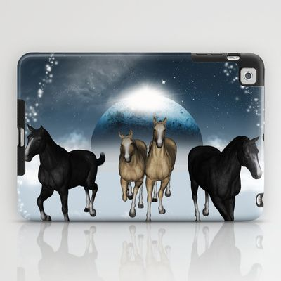 #Horses in the universe #iPad #Case by nicky2342 - $60.00