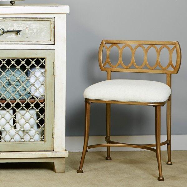 hillsdale canal street vanity stool