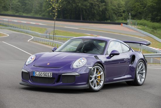 911 GT3 RS in Ultra Violet
