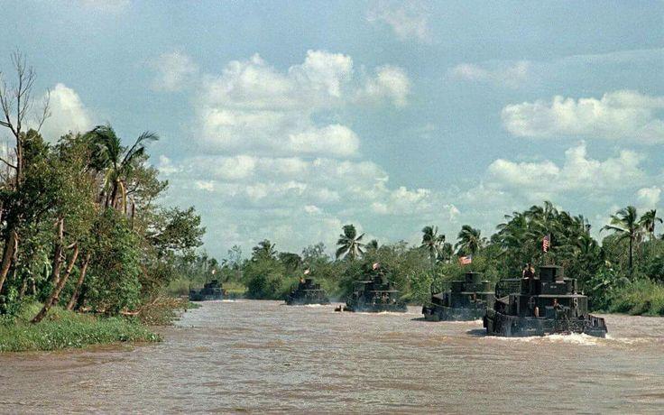 Vietnam War * ... The Brown Water Navy at work