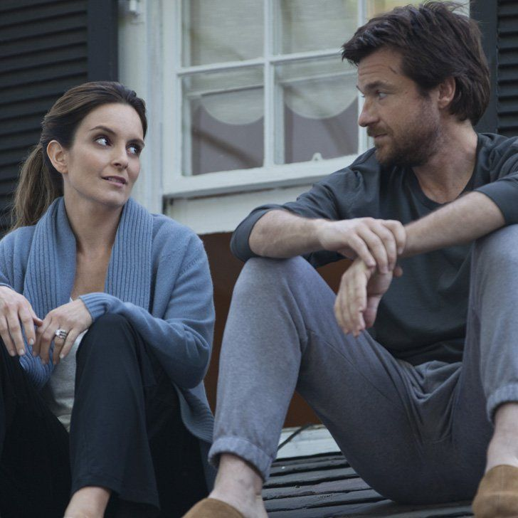 Tina Fey and Jason Bateman as Wendy and Judd Altman in This Is Where I Leave You