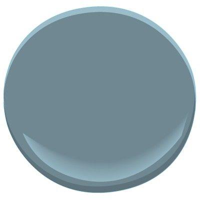 Blue dusk 1644 benjamin moore blue dusk gray blue deep for Deep grey color