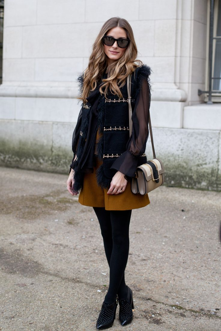 Celebrities in Black Tights - Outfit Ideas with Pantyhose | Teen Vogue