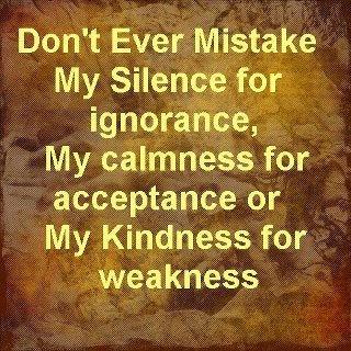 misunderstood often!