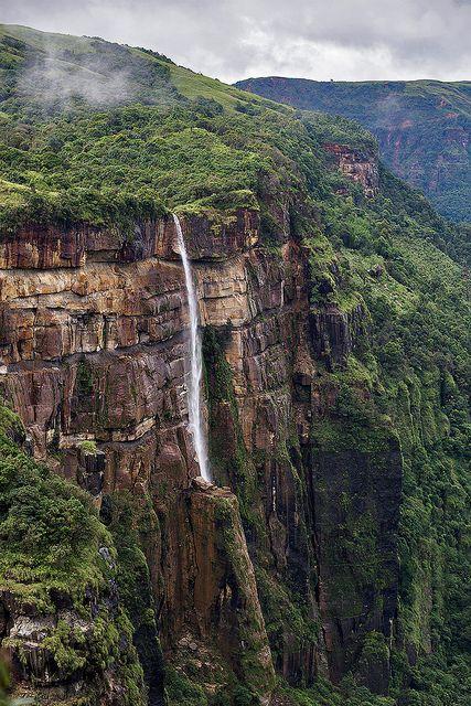 A waterfall in Cherrapunjee (India)