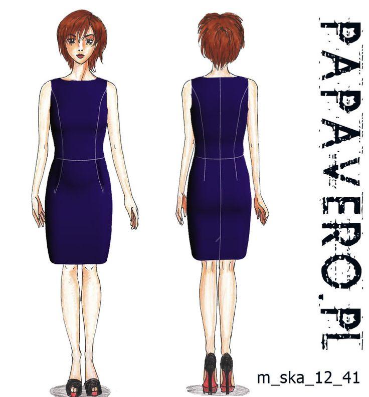 Papavero - free dress pattern