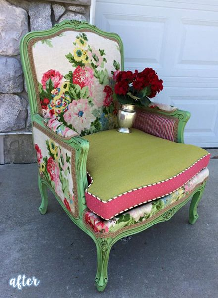 Mix And Match Floral Chair Floral Chair And Curtain Fabric