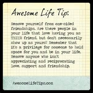 one sided friendship - Yahoo Search Results