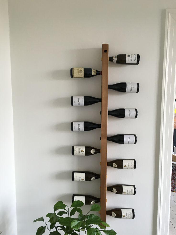 Custom wine rack  #VintageKBH #Vintage #KBH #Industri #Industrielt…