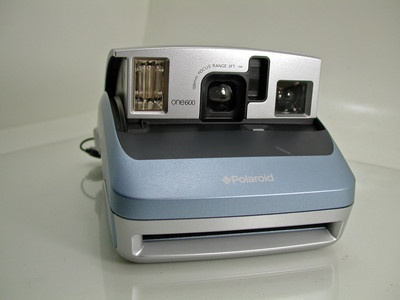 Polaroid One600 One 600 Instant Film Camera Blue - SOLD - Other items up for sale here! http://www.ebay.com/sch/pealfaro/m.html?_nkw=&_armrs=1&_from=&_ipg=&_trksid=p3686
