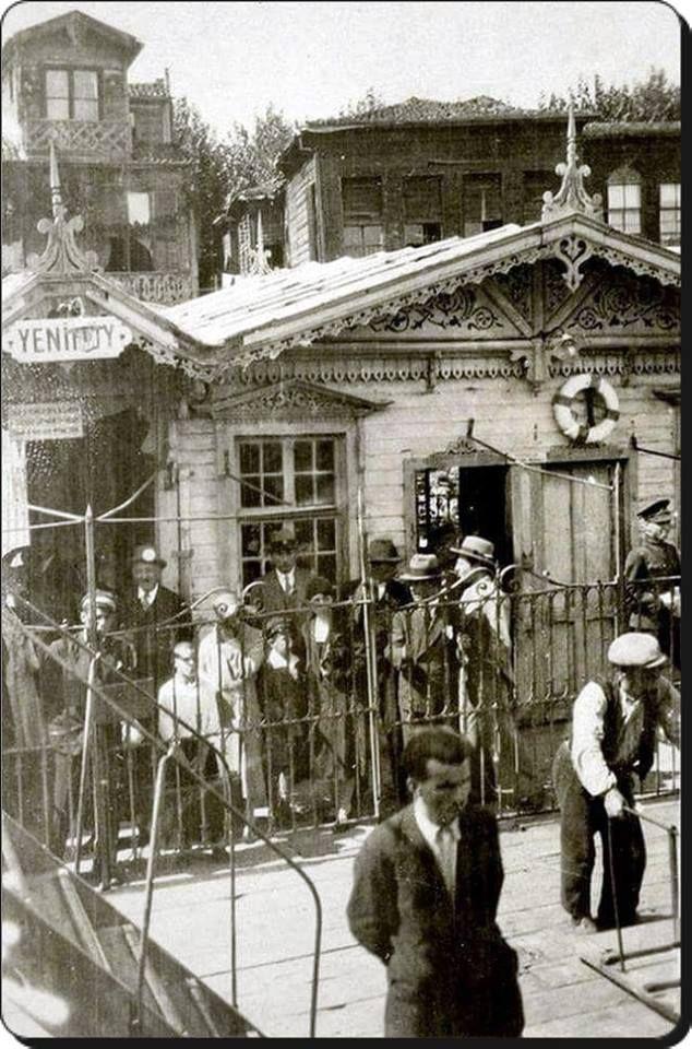 Yeniköy iskelesi - 1930'lar