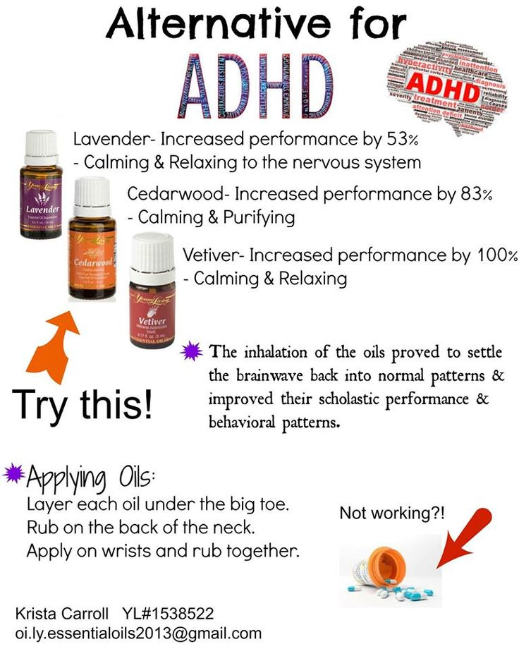 Young Living Essential Oils: ADHD                                                                                                                                                     More