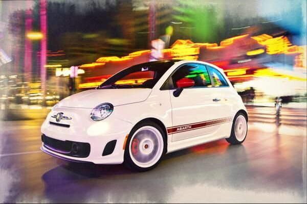 Small but #wicked never looked so good. #Abarth