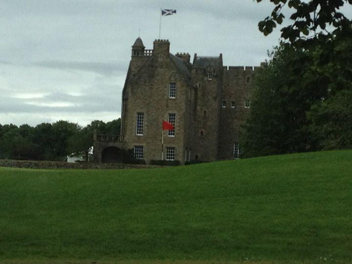 Rowallan, 700 year old Muir clan castle.