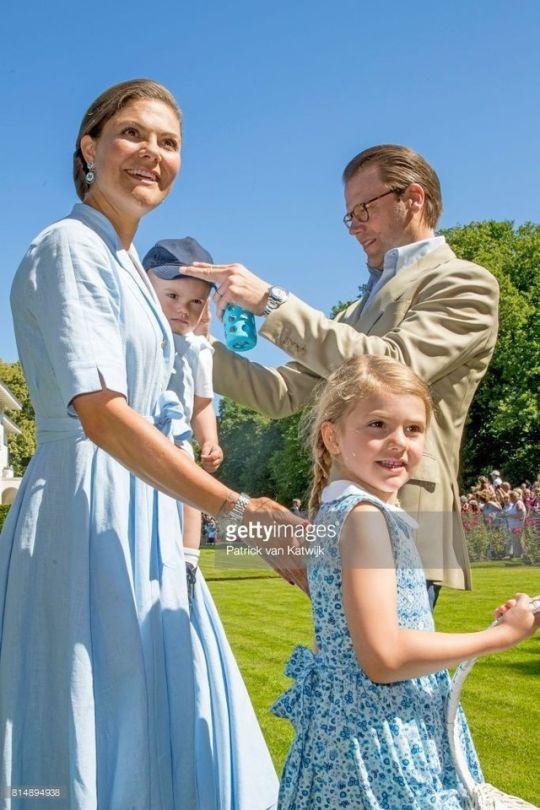 Crown Princess Victoria continue her birthday celebration at Solliden | July 15, 2017