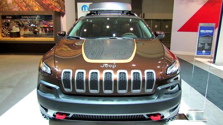 2014 mopar jeep cherokee trailhawk -