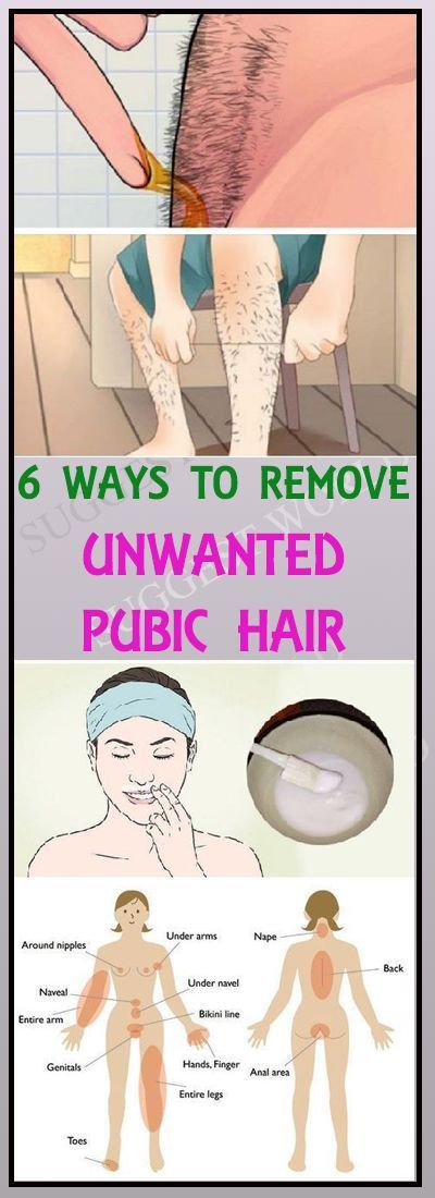 6 Ways To Naturally Remove Unwanted Body Hair Permanently