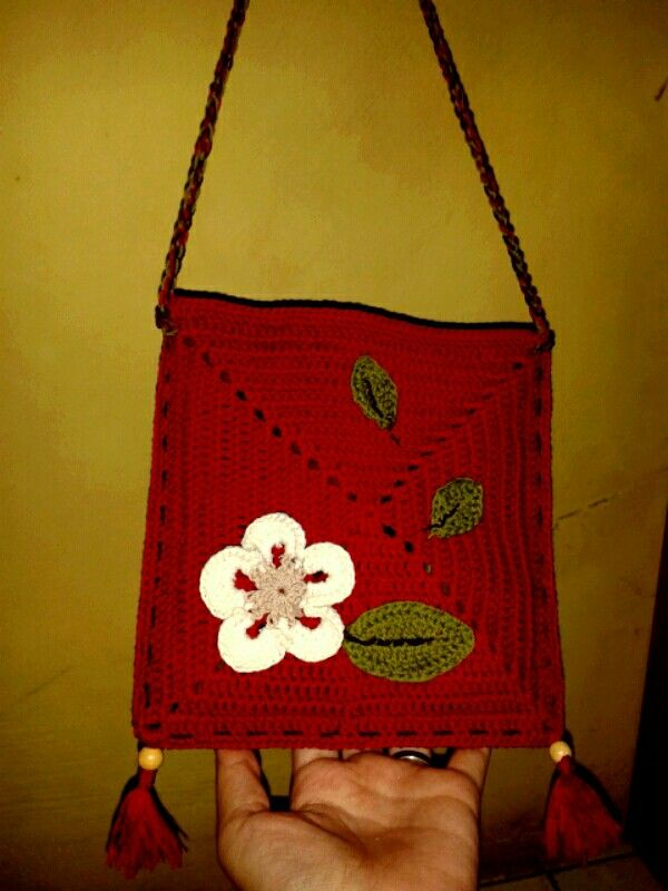 Cuteee..crochet bag
