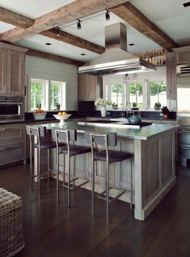 18 Fantastische Kustenkuchenentwurfe Fur Ihr Strandhaus Oder Landhaus Coastal Kitchen Design Kitchen Design Coastal Kitchen