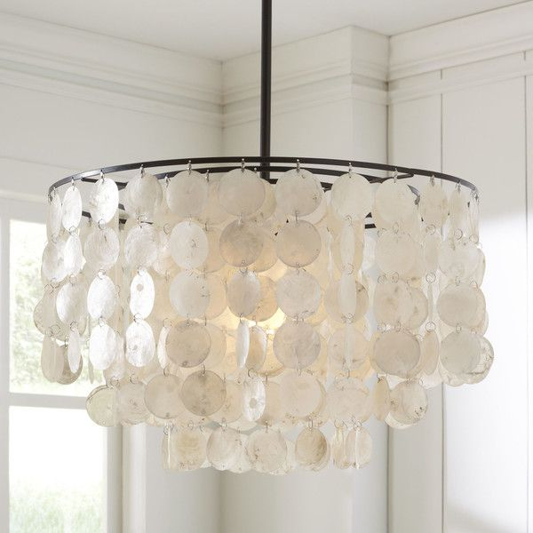 23 best capiz chandeliers images on pinterest light pendant wayfair she sells seashells pendant from birch lane 159 aloadofball Choice Image