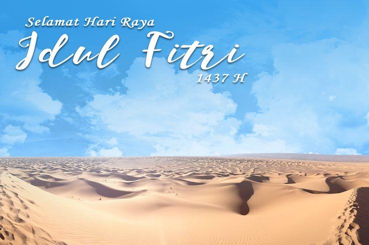 Akhiri masa Ramadhan dan sambut hari kemenangan. Selamat Idul Fitri 1437H. Mohon maaf lahir & batin. #idulfitri #lebaran #ramadan #muslim @luxly_indonesia