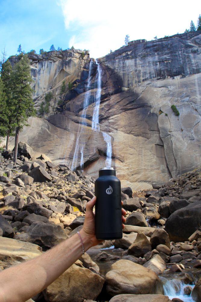 Waterfall in mizu bottle!