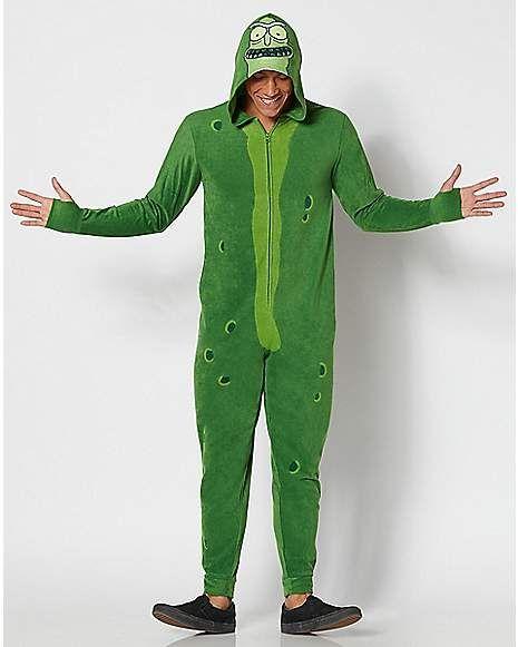 ada786576252d3 Pickle Rick Pajama Costume - Rick and Morty - Spencer s