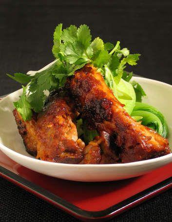 Spicy Korean pork ribs.