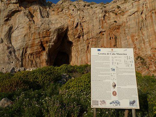 Grotta cala Mancina