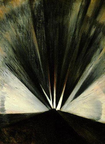 'Explosion' 1916 by C. R. W. Nevinson (British 1889-1946)