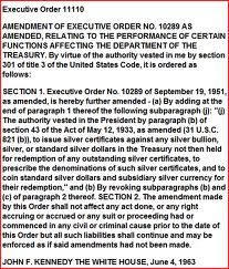 executive order 11110 - Google Search                                                                                                                                                                                 More