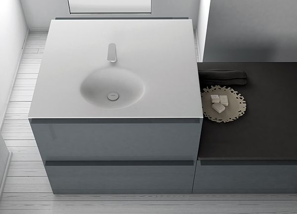 Ka collection by Inbani. #bathroom #design #furniture #washbasin