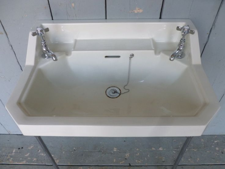 Delightful Vintage Bathroom Sinks For Sale Part - 12: UKAA Buy And Sell Antique Art Deco Bathroom Sinks Online And For Sale In  Our Shop. Architectural Salvage And Reclaimed Items Are Sold In Our Yard In  Cannock ...