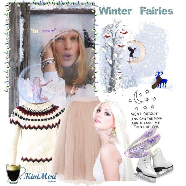 """Winter Faires"" by kivimeri on Polyvore"