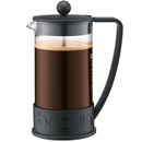 Bodum Brazil 8 Cup French Press Coffee Maker - The Brazil 8 Cup is a traditional French Press Coffee Maker that ensures the combination of ground coffee and boiling water simply creates excellent fresh coffee. The Brazil cafetiere is crafted from  http://www.MightGet.com/january-2017-11/bodum-brazil-8-cup-french-press-coffee-maker-.asp