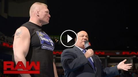 Brock Lesnar returns as fight with Goldberg looms ahead: Raw, Oct. 24, 2016: One week after Goldberg agreed to battle Brock Lesnar…