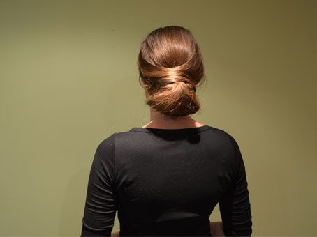 Layered Bun Hair Tutorial