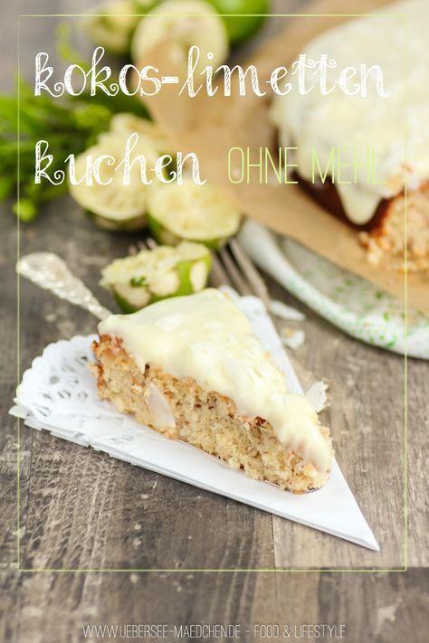 Kokos-Limetten-Kuchen ohne Mehl - holt schon mal den Sommer her;-)
