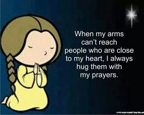 i always pray for U..