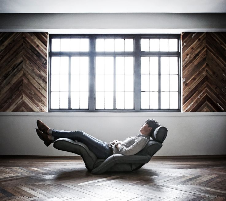 zero gravity sofa chair  - 이렇게 다리를 올려 힐링하는, 무중력 소파 체어