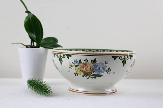 Vintage Villeroy And Boch Old Amsterdam Small Salad Bowl O 19 Cm