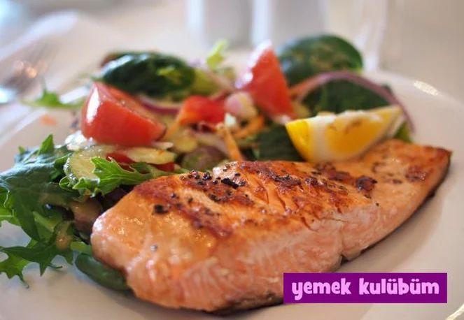 Fırında Somon Balığı - Yemek Kulübüm - Kolay Yemek Tarifleri