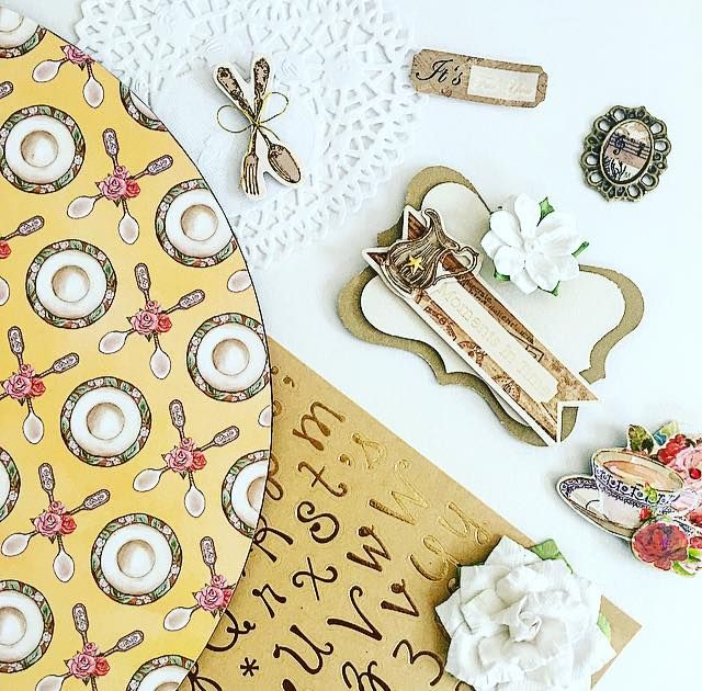 papéis decorados - adesivos - flor artesanal