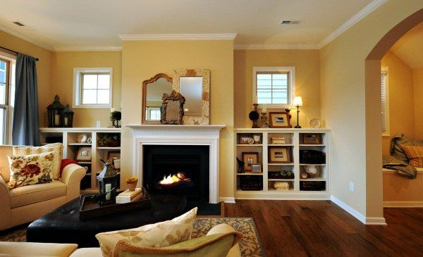 Grayson Family Room In Kitts Creek Morrisville Nc Builtins Kitts Creek Pinterest Home